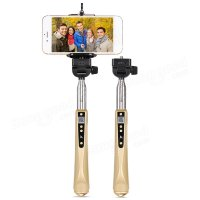 Монопод Hoco Srlfie Stick CPH02 Wireless Zoom Gold
