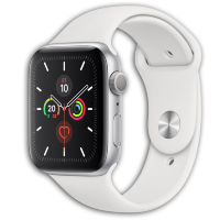 Apple Watch Series 6 GPS 44mm Aluminum Case with Sport Band Silver