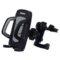 Автодержатель Baseus Wind Car Mount Black