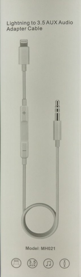 Кабель Apple Lighting to 3.5 AUX Audio Adapter Cable
